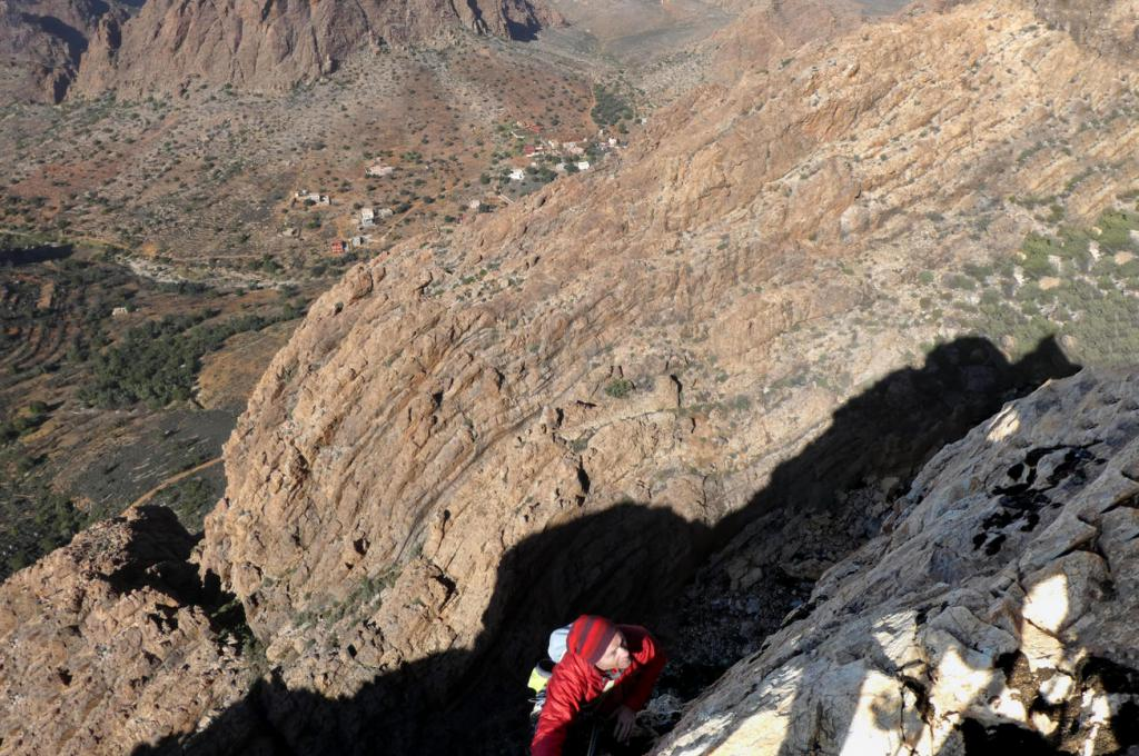 Climb Tafraoute Icebox Canyon