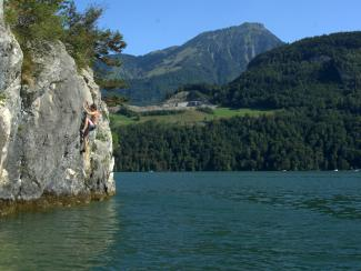 Telli topos,deep water soloing, klettern