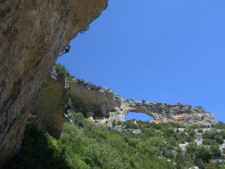 Climbing Aquest any si (7b+), Rodellar